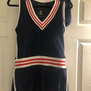 Champion terry cloth romper